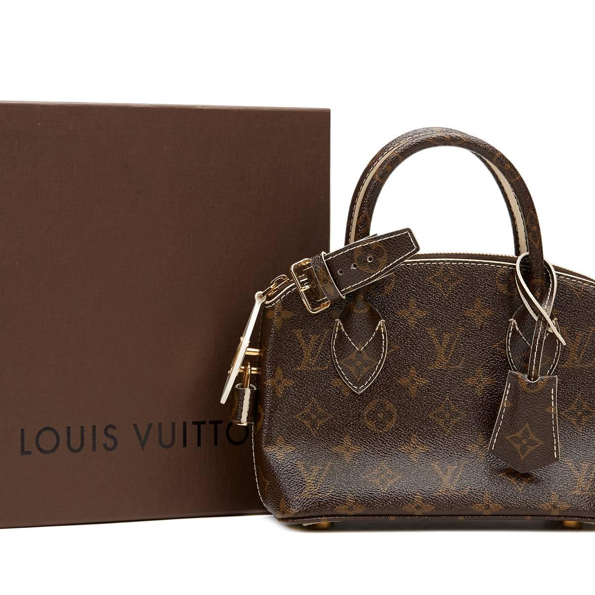 Louis Vuitton 2010s Louis Vuitton Marine Shearling Lockit Pulsion ntPHMCxI