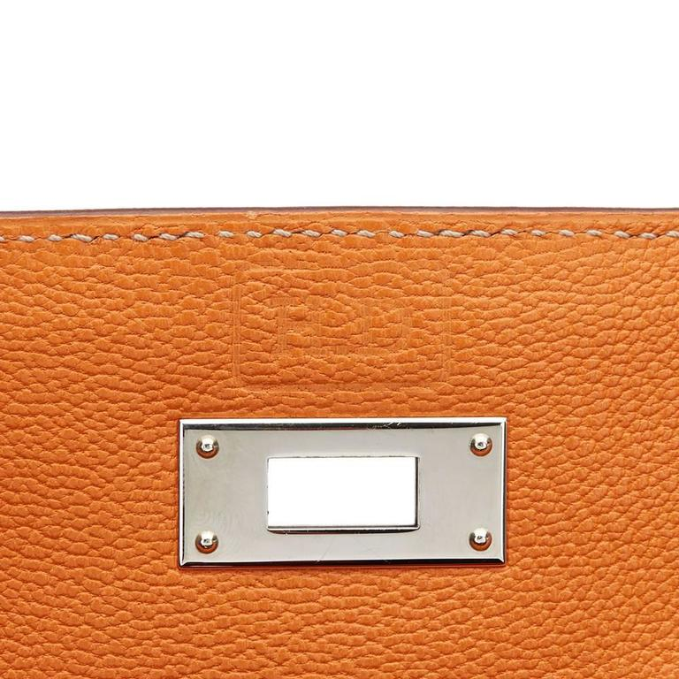 2012 Hermes Brique Epsom Leather Kelly Retourne 35cm 8