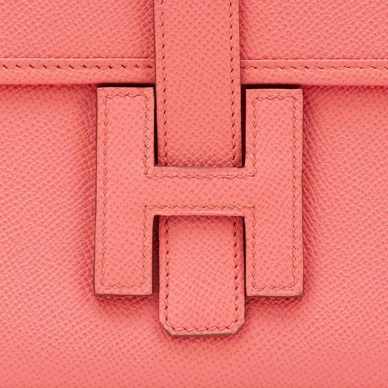 2013 Hermes Flamingo Epsom Leather Jige Elan 29 For Sale 2