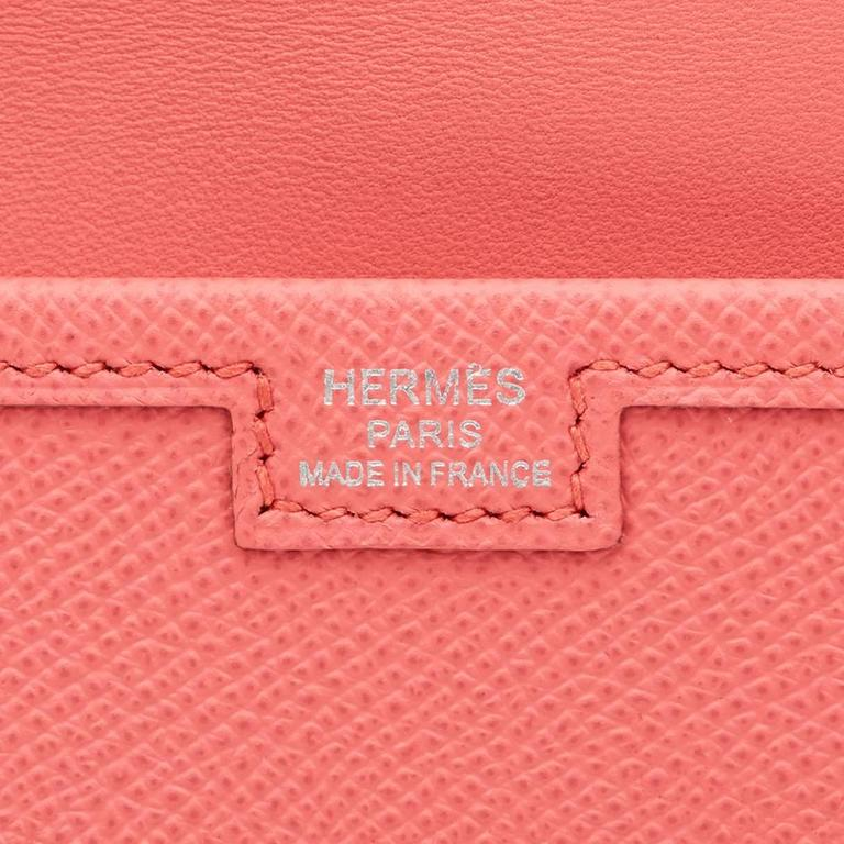 2013 Hermes Flamingo Epsom Leather Jige Elan 29 For Sale 4