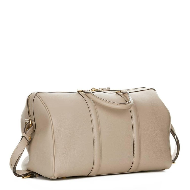 2013 Louis Vuitton Taupe Cachemire Leather Sofia Coppola MM In Excellent Condition For Sale In Bishop's Stortford, GB