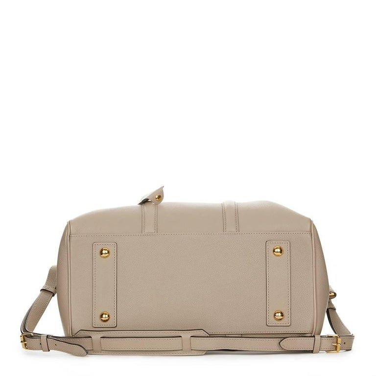 Women's 2013 Louis Vuitton Taupe Cachemire Leather Sofia Coppola MM For Sale