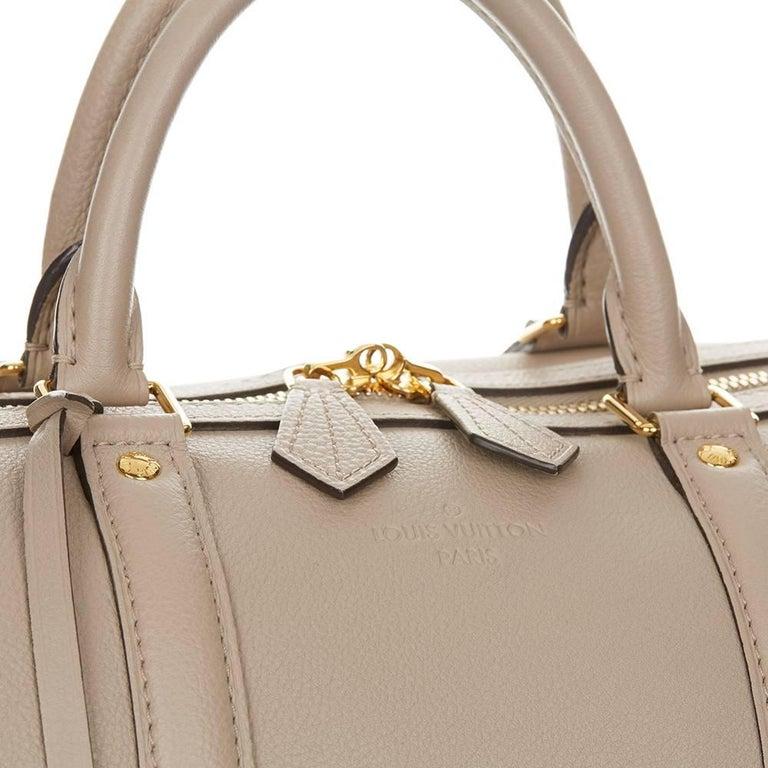 2013 Louis Vuitton Taupe Cachemire Leather Sofia Coppola MM For Sale 1
