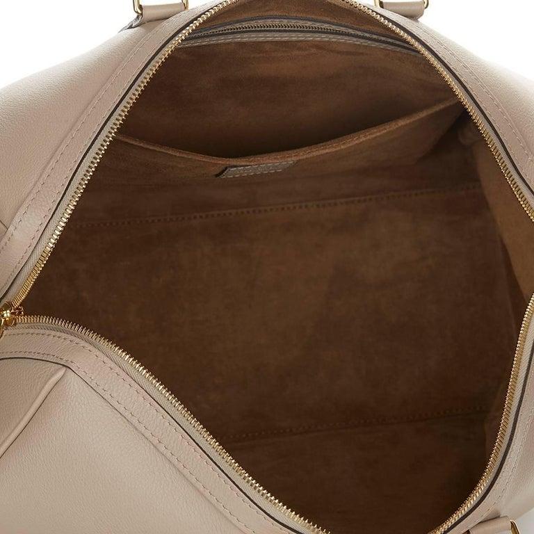 2013 Louis Vuitton Taupe Cachemire Leather Sofia Coppola MM For Sale 3