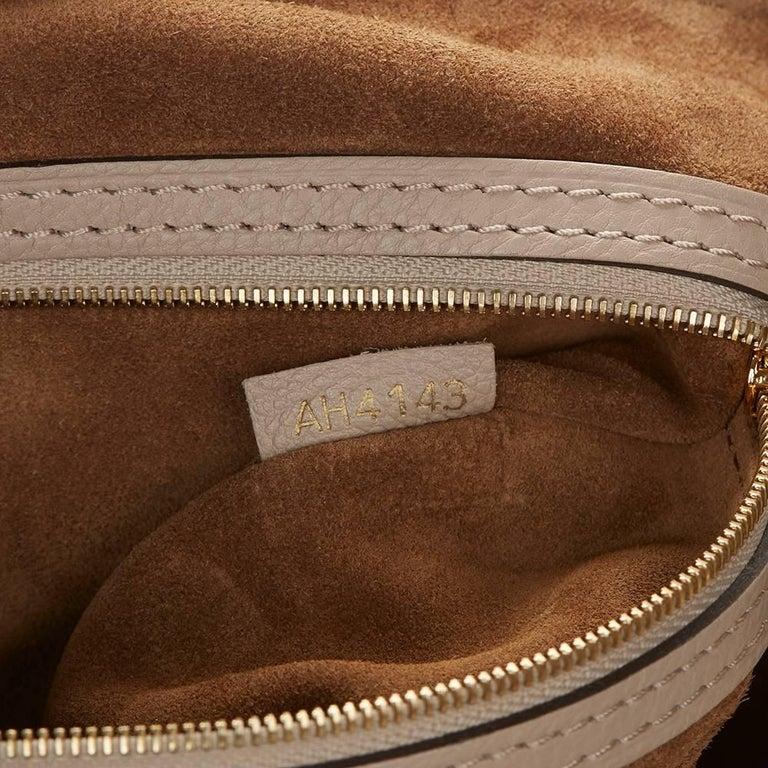 2013 Louis Vuitton Taupe Cachemire Leather Sofia Coppola MM For Sale 4