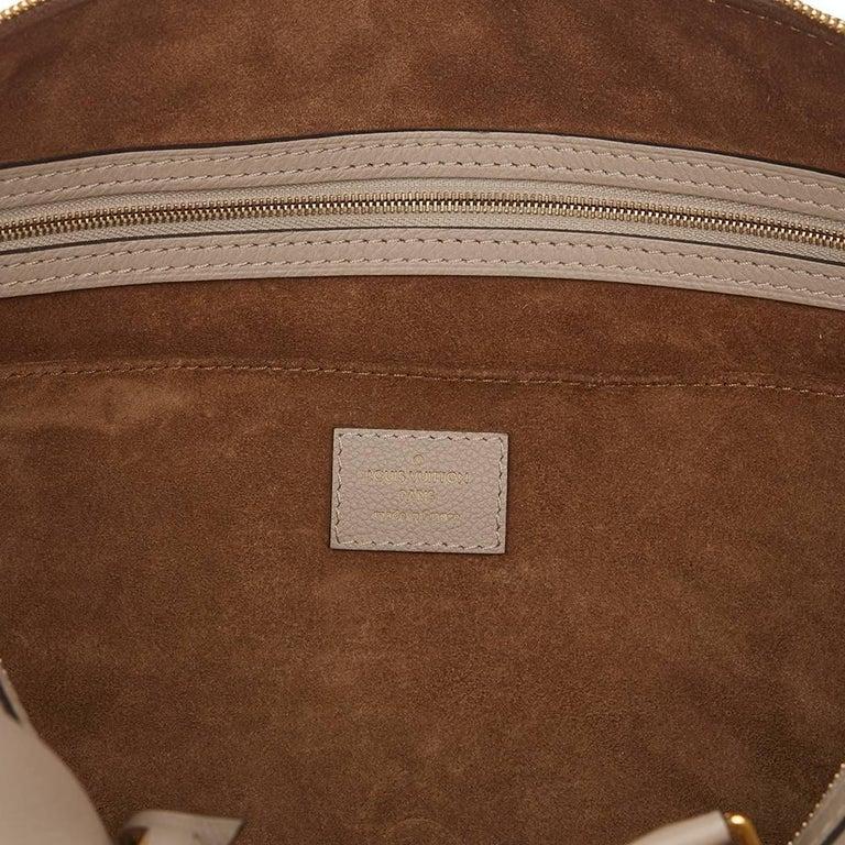 2013 Louis Vuitton Taupe Cachemire Leather Sofia Coppola MM For Sale 2