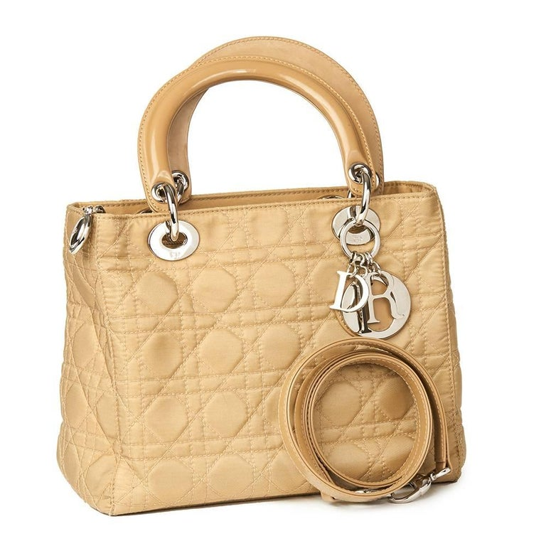 1990 Chanel Beige Quilted Lambskin Vintage Classic Single Flap Bag  For Sale 5