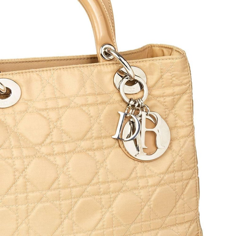 1990 Chanel Beige Quilted Lambskin Vintage Classic Single Flap Bag  For Sale 1