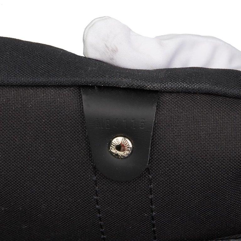 2010s Louis Vuitton Graphite Damier Christopher Nemeth Keepall Bandouliere 45  For Sale 3
