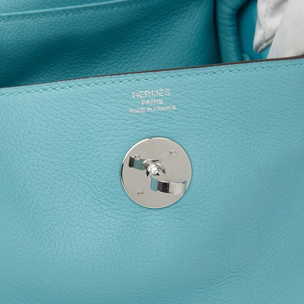 b0318a2c4e2a ... where to buy hermes blue atoll evercolour leather lindy 26 bag 2015 for  sale 2 56e8e ...