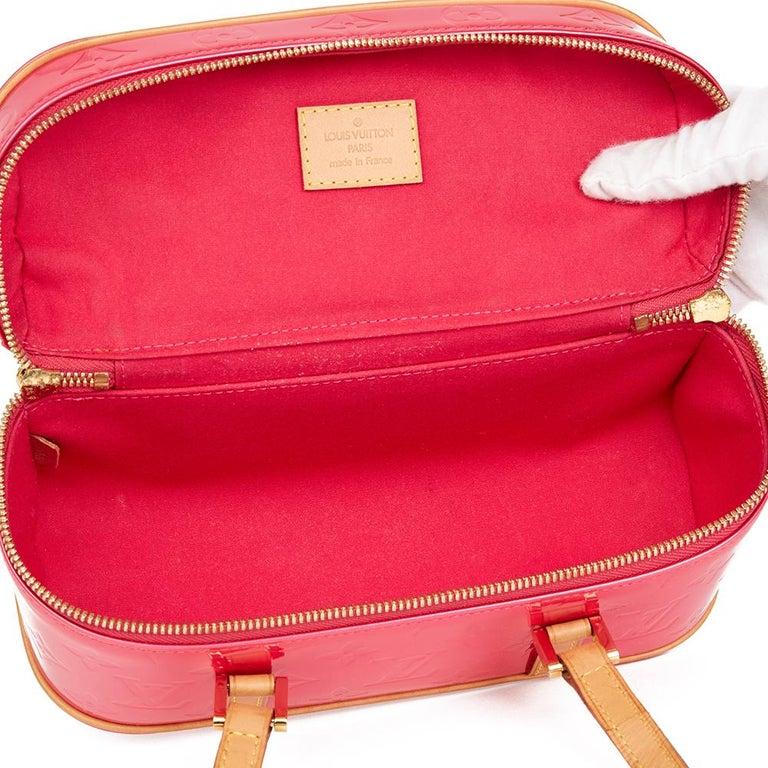 2003 Louis Vuitton Fuchsia Monogram Vernis Leather Sullivan Horizontal PM For Sale 4