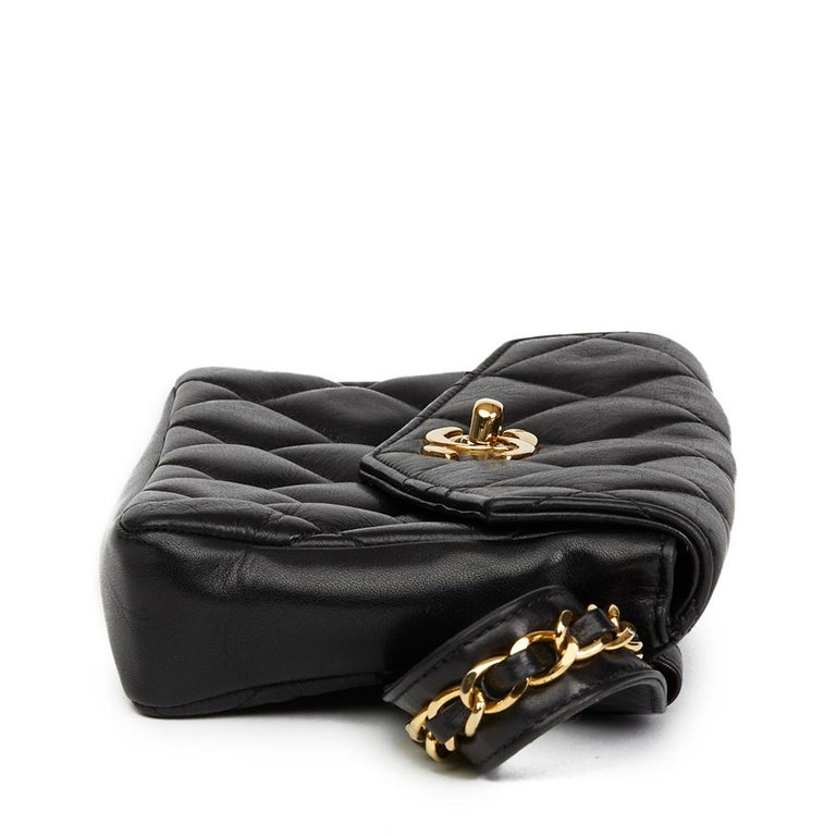 0cec45e671d2 CHANEL Black Quilted Lambskin Vintage Classic Belt Bag Xupes Reference:  HB2180 Age (Circa)