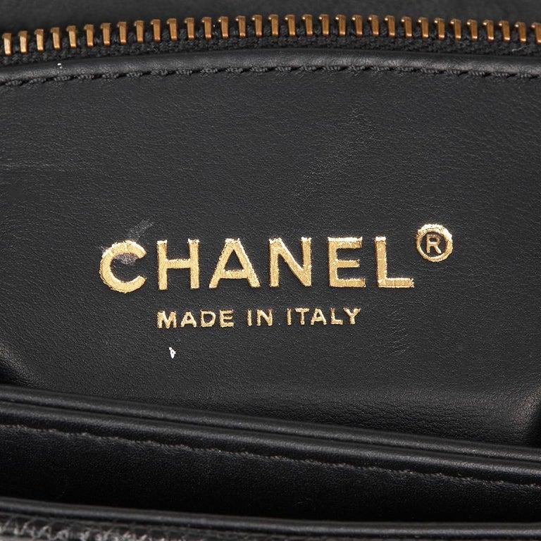 fc7429afa171 2013 Chanel Black Lizard   Quilted Lambskin Medium Perfect Edge Classic  Flap Bag For Sale 4