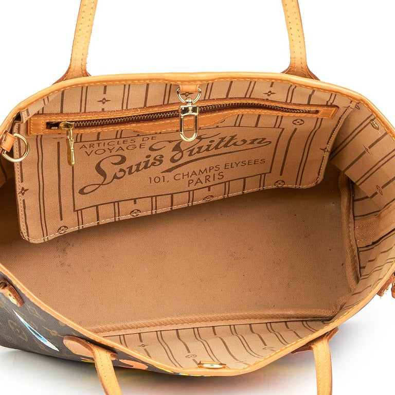 2007 Louis Vuitton Xupes X Year Zero London 'Hey Good Lookin' Neverfull PM For Sale 5