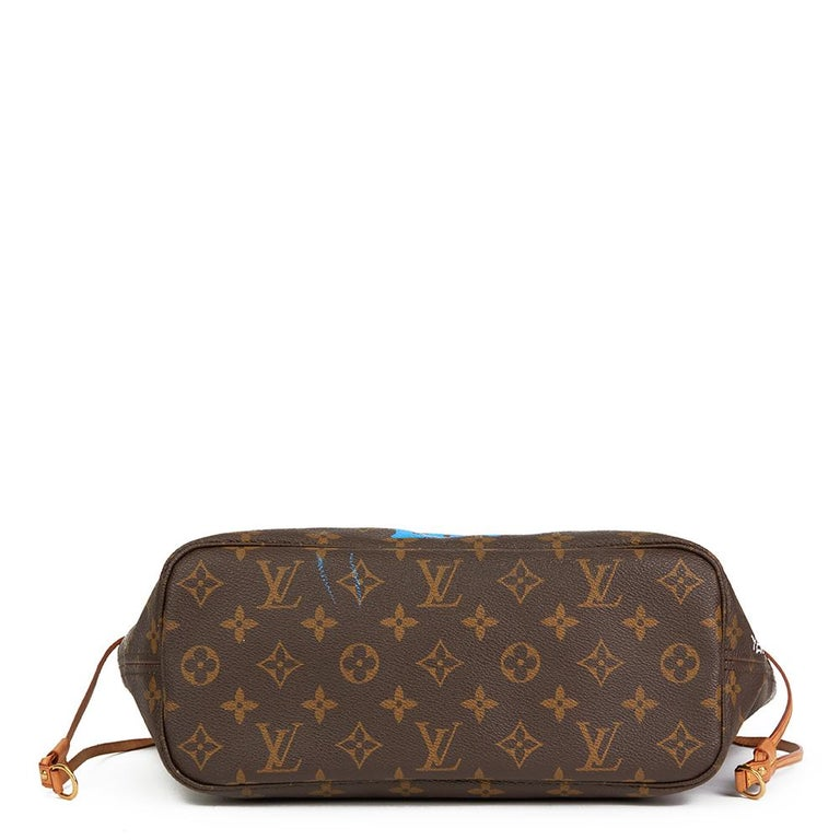 Women's Louis Vuitton Xupes X Year Zero London Zap Them with Super Love Nevefull PM For Sale
