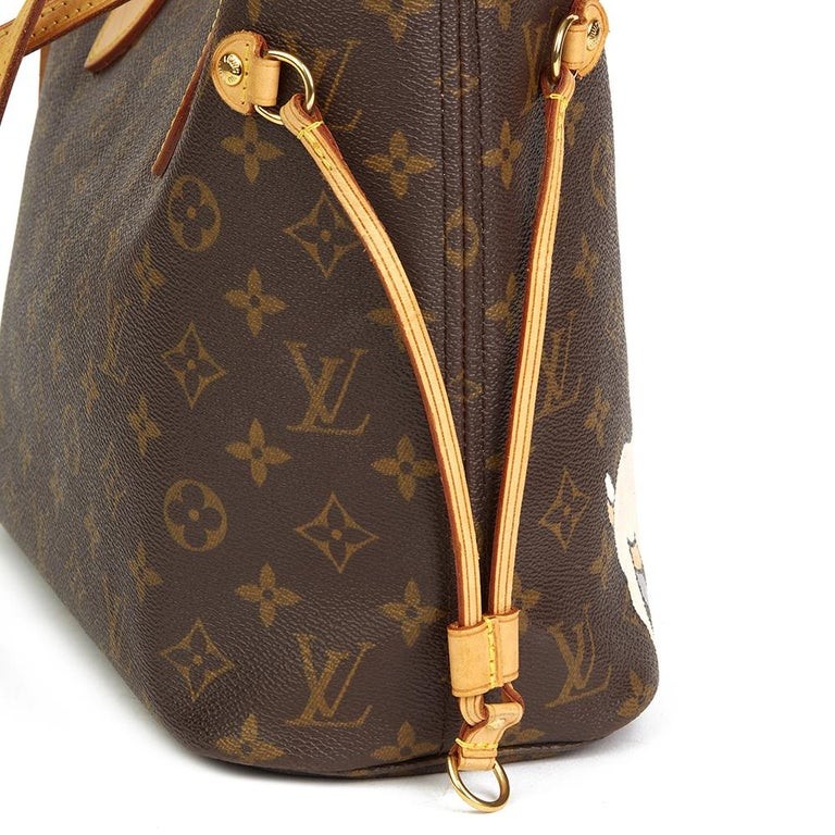 Louis Vuitton Xupes X Year Zero London 'Satan Loves Me' Neverfull PM For Sale 2