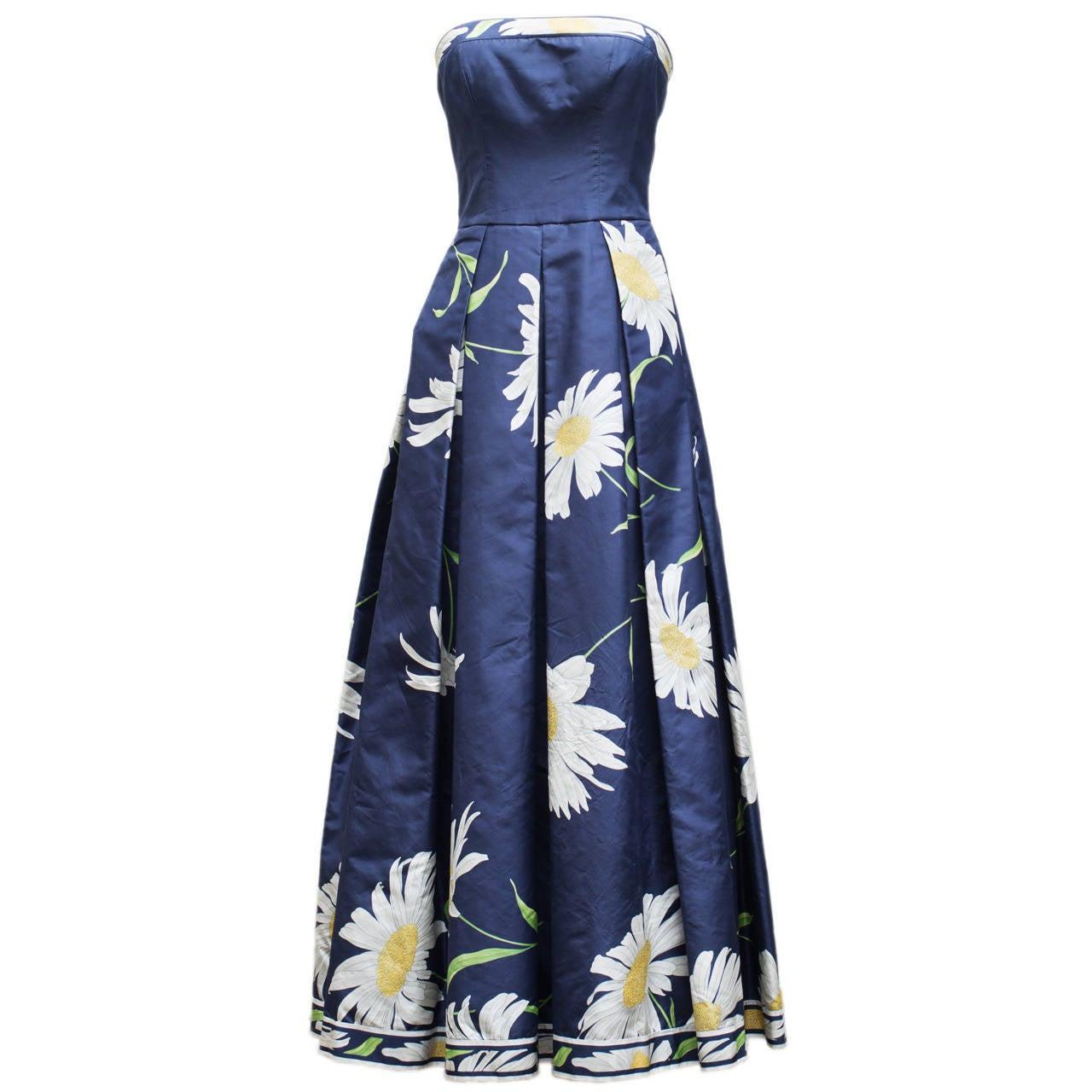 Leonard Charming Strapless Dress