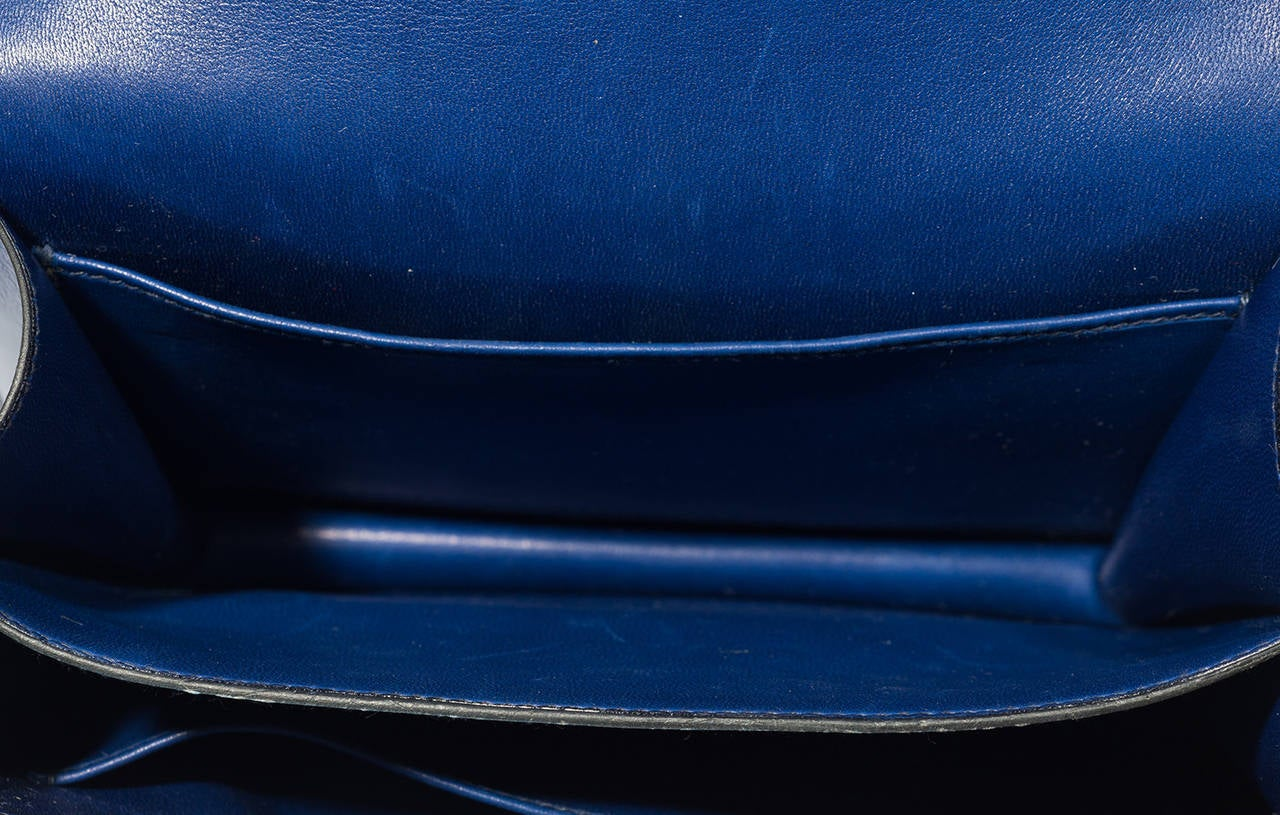 Hermès Constance  Divine Blue  Leather  bag For Sale 2