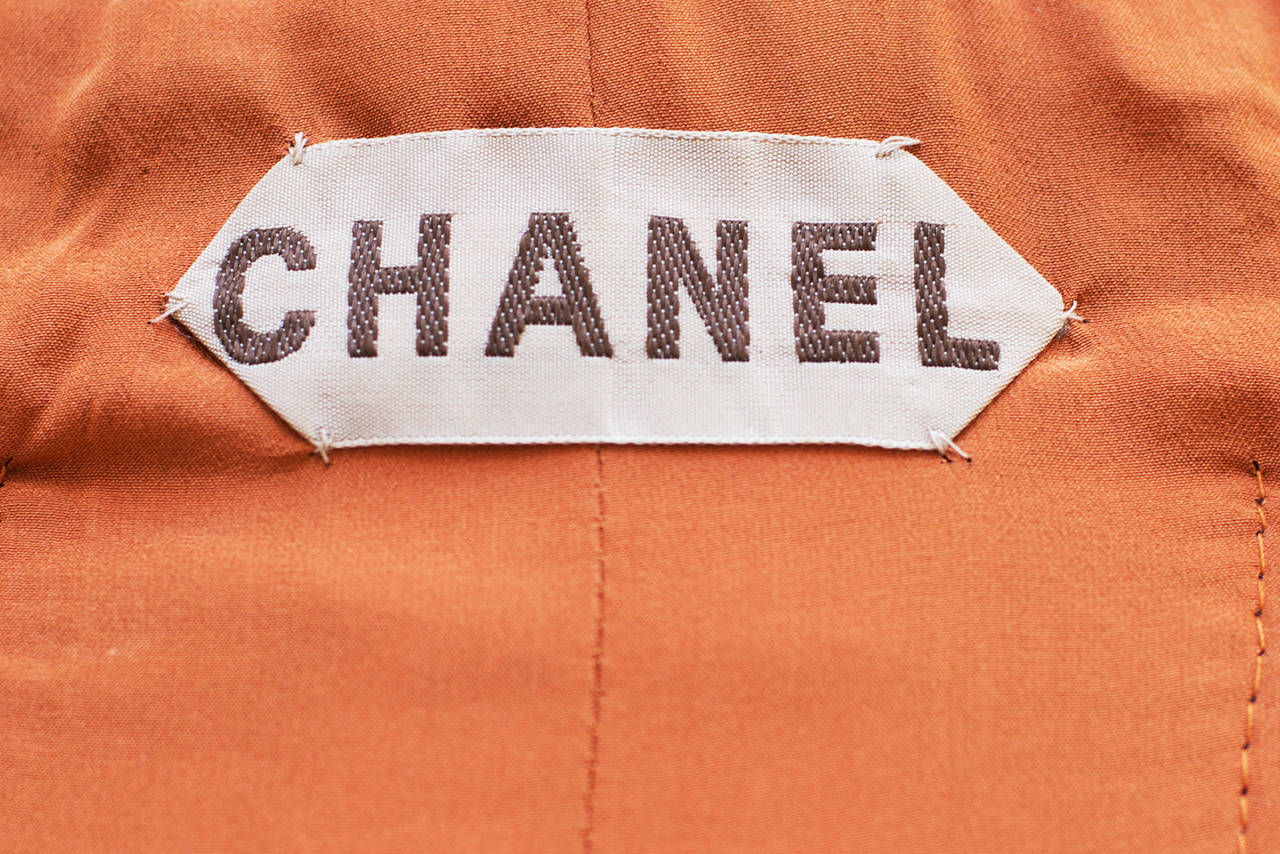 Chanel Haute-Couture  1960 -1970 Vintage Tweed Suit For Sale 1