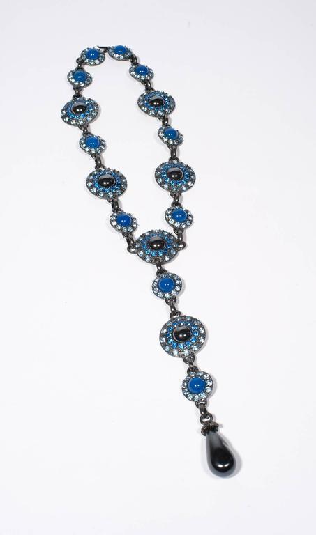 Yves Saint Laurent Rive Gauche Divine Long Necklace   For Sale 2