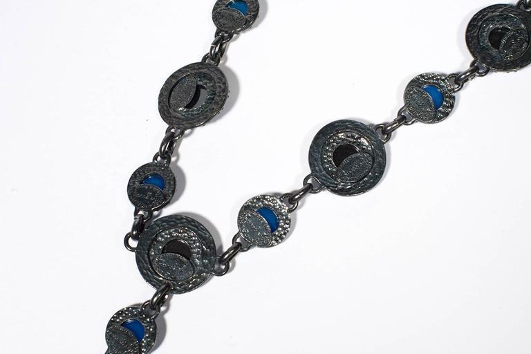 Yves Saint Laurent Rive Gauche Divine Long Necklace   In Good Condition For Sale In Paris, FR
