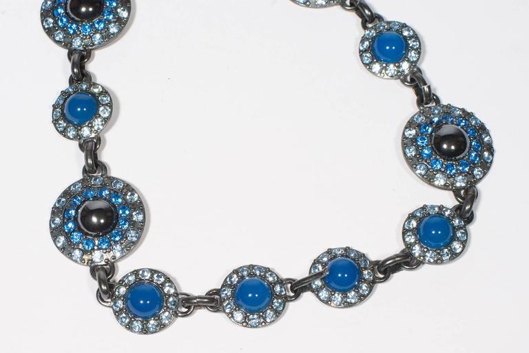 Women's Yves Saint Laurent Rive Gauche Divine Long Necklace   For Sale