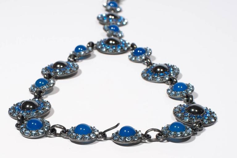 Yves Saint Laurent Rive Gauche Divine Long Necklace   5