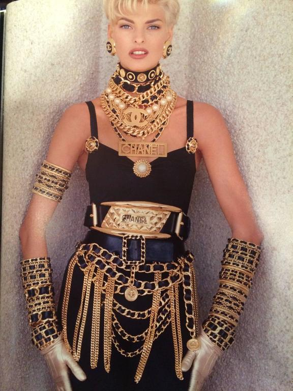 Chanel Vintage Amazing Cuff  1988-1992 7
