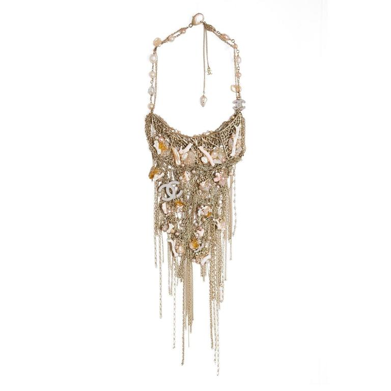 "Chanel  Vintage   "" Pectoral-Necklace "" Paris-Mumbay Collection 2012/2013 1"