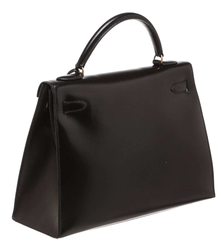 hermes burgundy leather 32cm kelly handbag ghw
