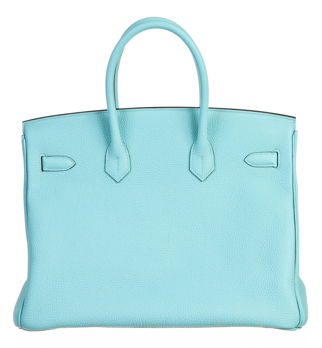 knock off birkin bag - Hermes Blue Atoll 35cm Togo Leather Birkin Handbag GHW at 1stdibs