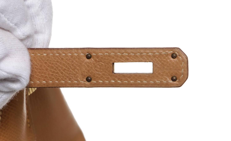 hermes gold epsom leather 28cm kelly handbag ghw