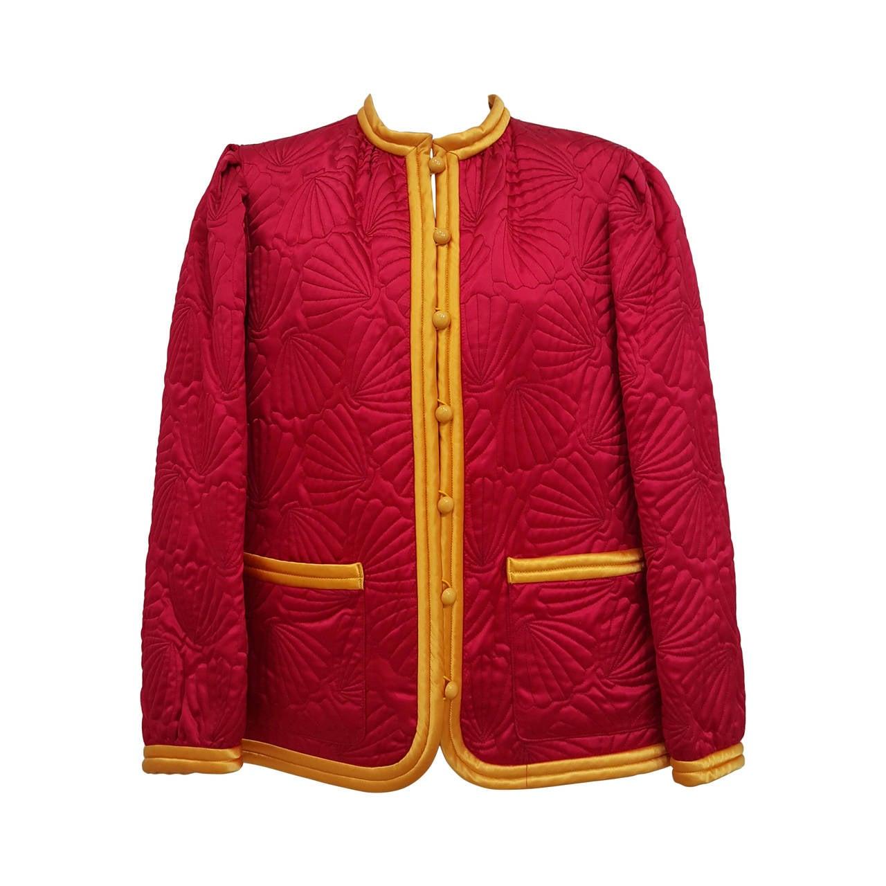 Buy low price, high quality red silk jacket with worldwide shipping on bigframenetwork.ga