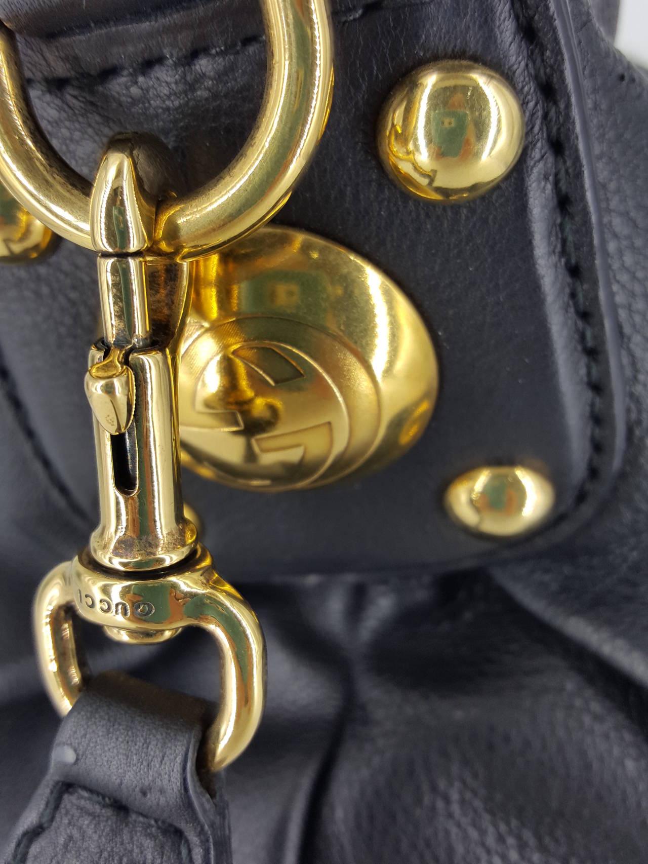Women's Gucci Black Leather