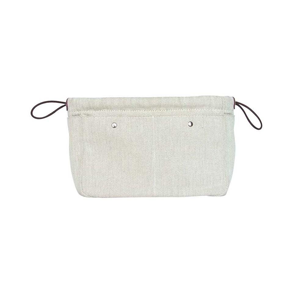 d26373210 Authentic Hermes Fourbi Bag Canvas Barenia Leather For Kelly Birkin For Sale