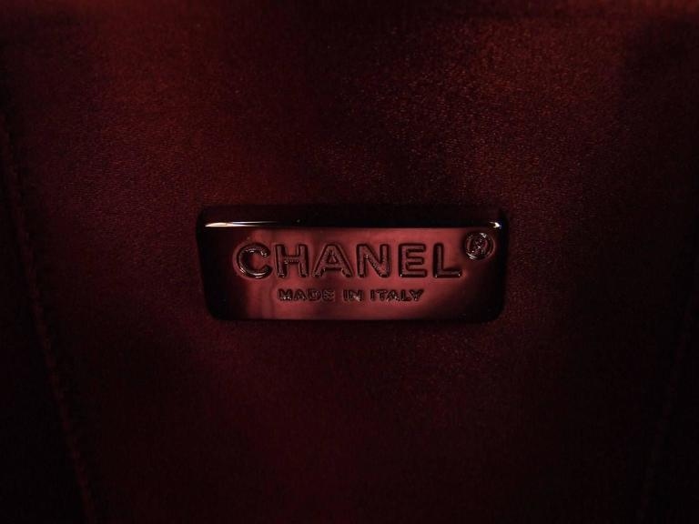CHANEL Milk Bottle Bag Pink Patent Leather Limited Edition Full Set 7