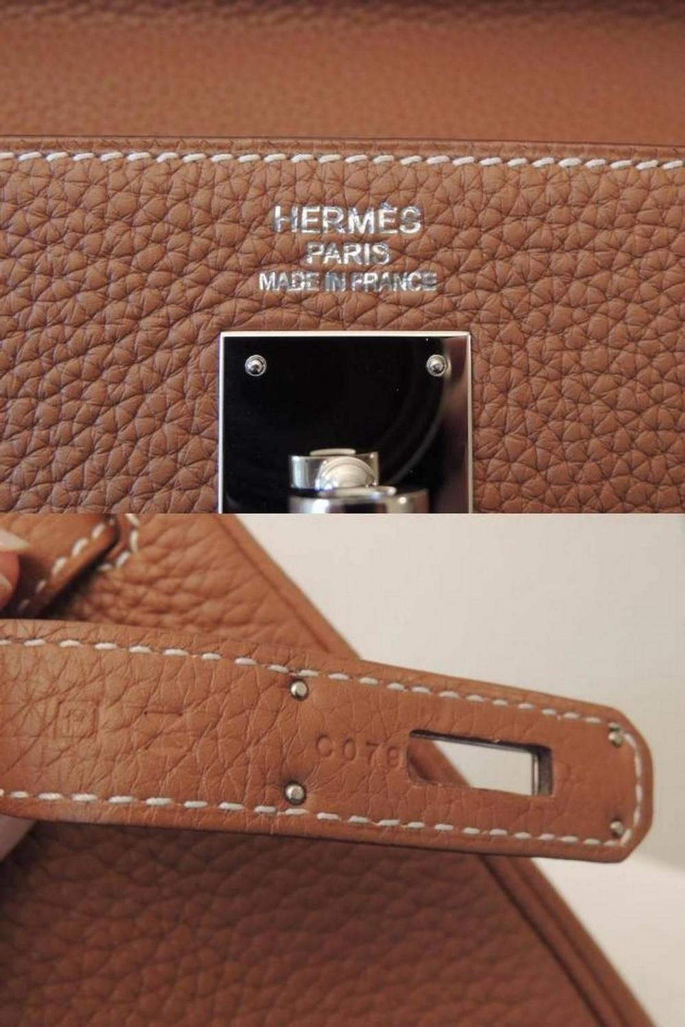 used hermes birkin bag for sale - Hermes Kelly 35 Handle Bag Gold Clemence Leather PHW Full Set at ...