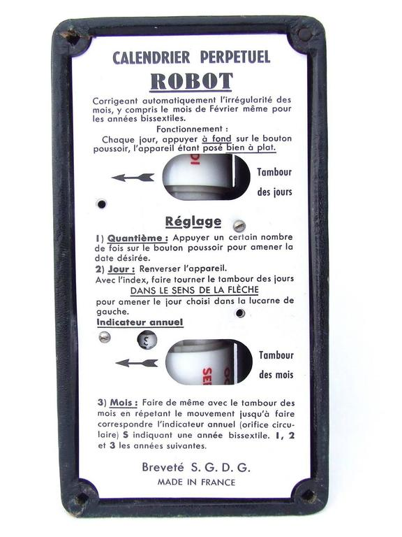 Rare Hermes Calendar Ephemeris Perpetual Calendar Robot  5