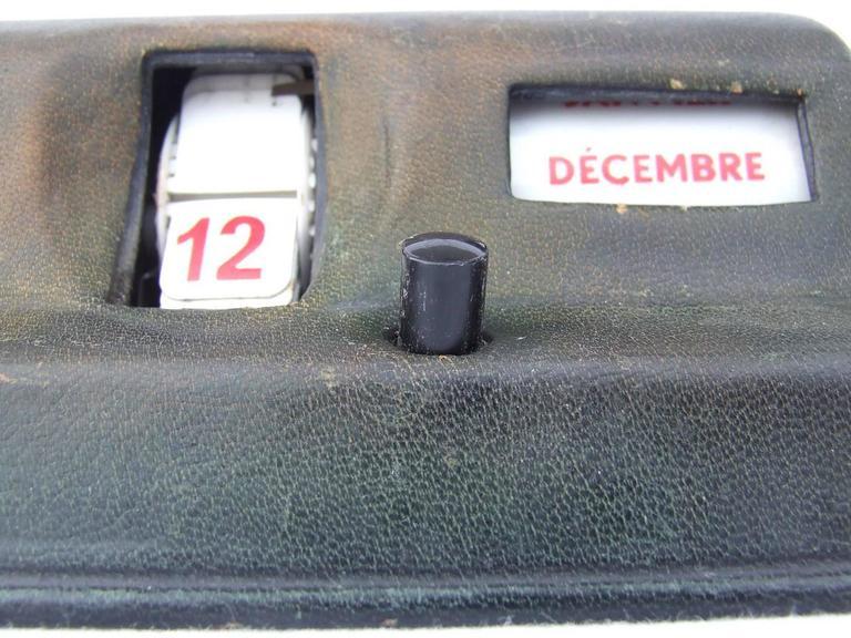 Rare Hermes Calendar Ephemeris Perpetual Calendar Robot  8