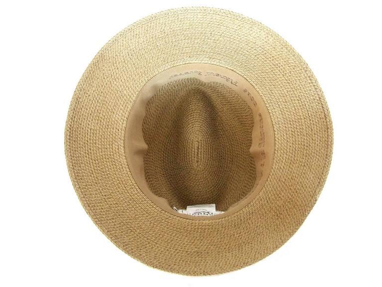 Hermes Sun Hat Panama Beige Size 57  8