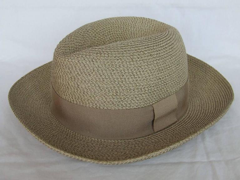 Hermes Sun Hat Panama Beige Size 57  9