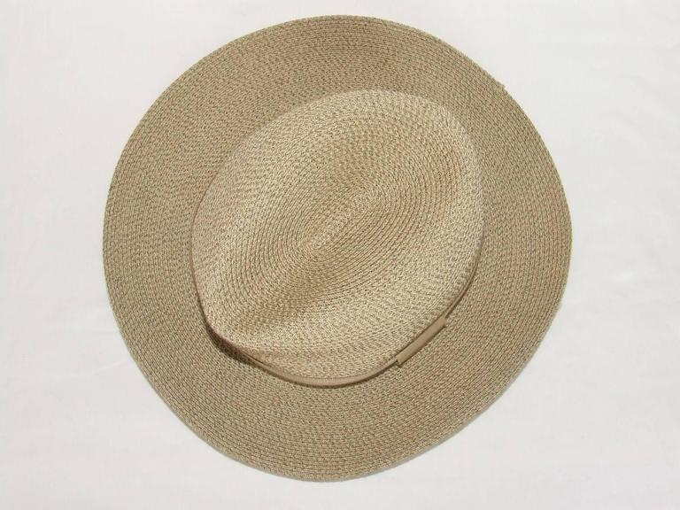 Hermes Sun Hat Panama Beige Size 57  10