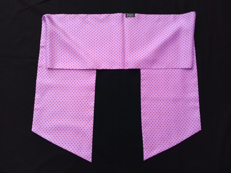 Hermès Silk Scarf Maxi Twilly Cut Astrologie Pois (Dies et Hore) Parma In Box For Sale 10