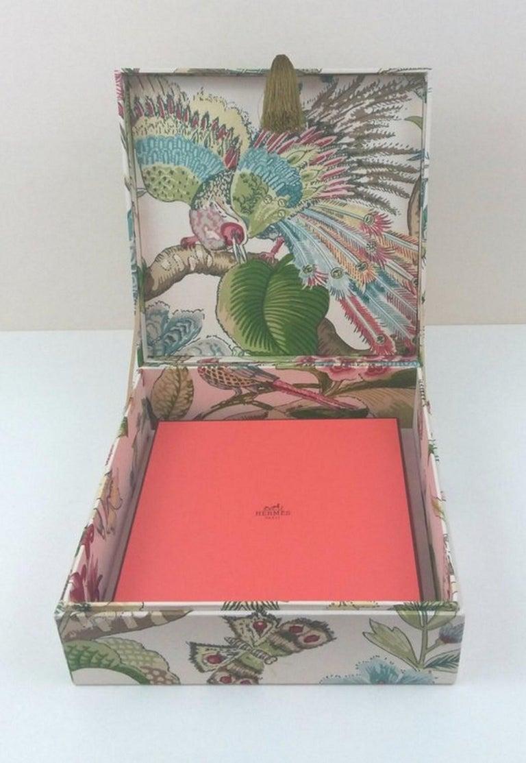 Cranley Garden Greeff Fabric Decorative Storage Box for Scarves  For Sale 5