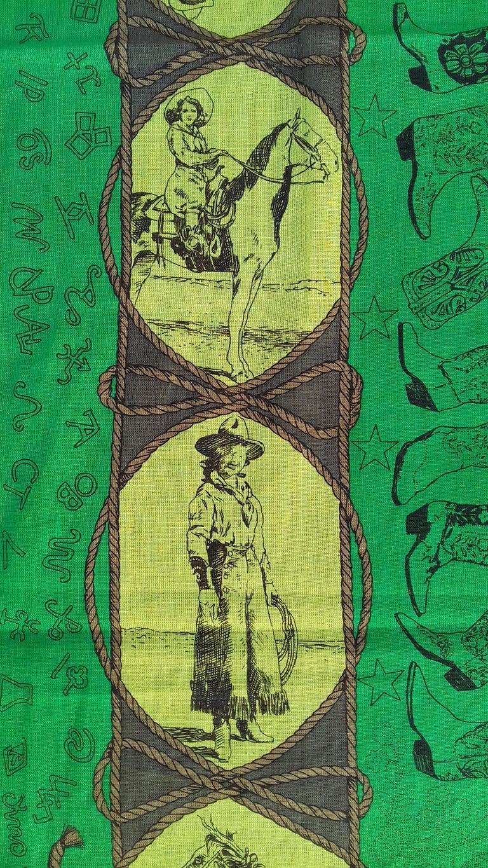 Hermès Cotton Charm Scarf Rodeo Des Cowgirls Kermit Oliver TEXAS 67 cm GRAIL For Sale 1
