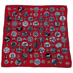 Hermès Silk Scarf Pois de Soie Cathy Latham 2011 70 cm