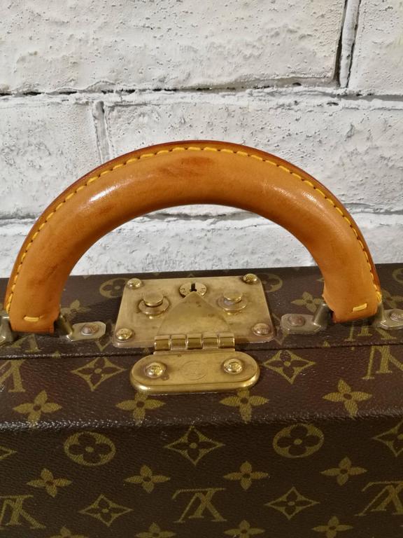 Brown Louis Vuitton Vintage Monogram Luggage