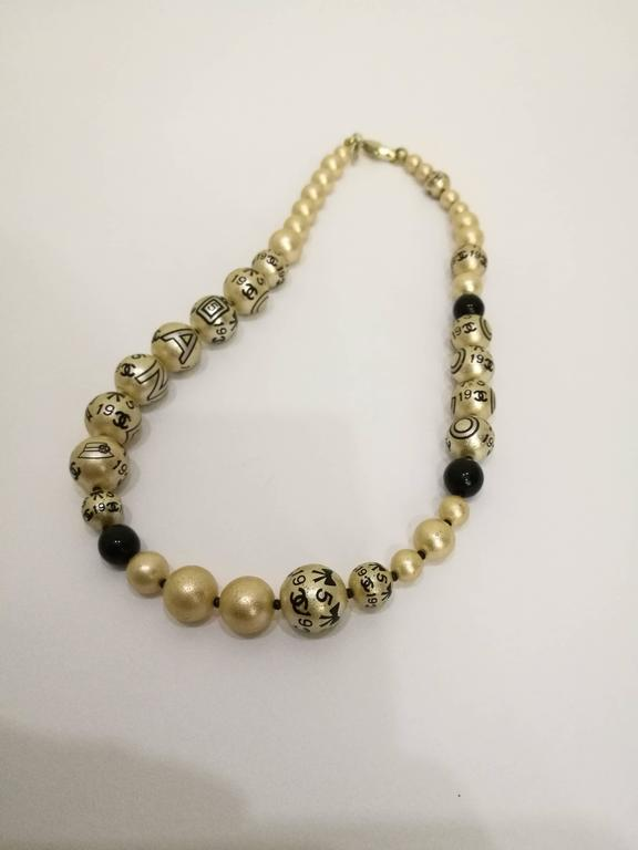 Chanel Faux Pearls Necklace 2