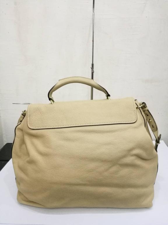 Brown Chloé Large Elsie Beije Leather bag  For Sale