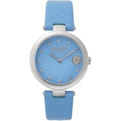 Versus Light Blue Buffle Watch